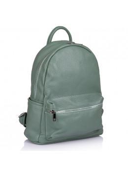 Оливковый женский рюкзак кожаный VIRGINIA CONTI - VC00459 Olive