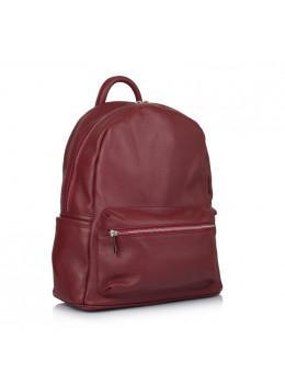 Итальянский женский рюкзак из натуральной кожи VIRGINIA CONTI - VC00459 Red