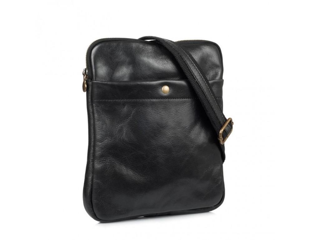 Мужская сумка через плечо VIRGINIA CONTI (ИТАЛИЯ) - VCM01349 Black - Фото № 1