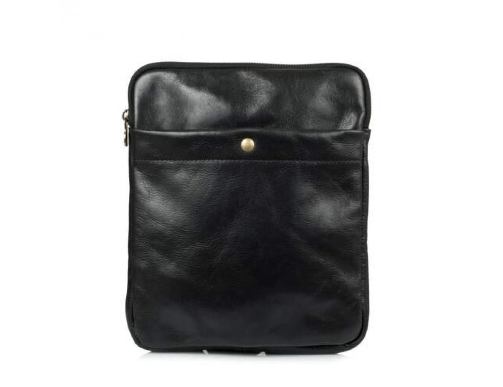 Мужская сумка через плечо VIRGINIA CONTI (ИТАЛИЯ) - VCM01349 Black - Фото № 2