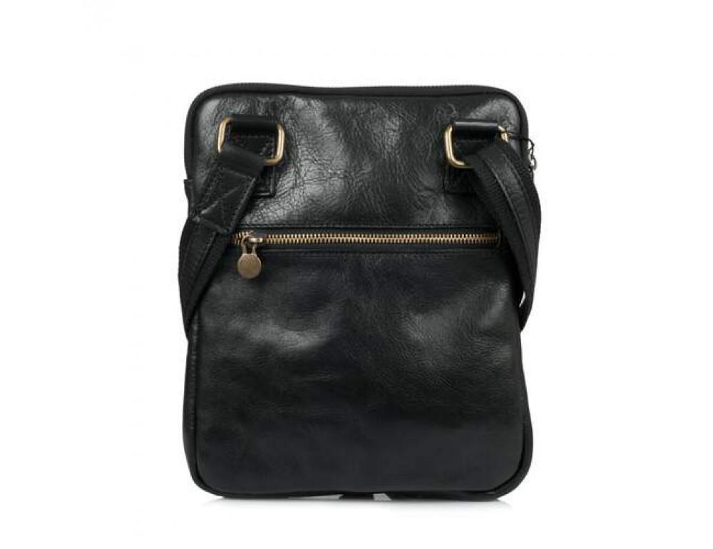 Мужская сумка через плечо VIRGINIA CONTI (ИТАЛИЯ) - VCM01349 Black - Фото № 3