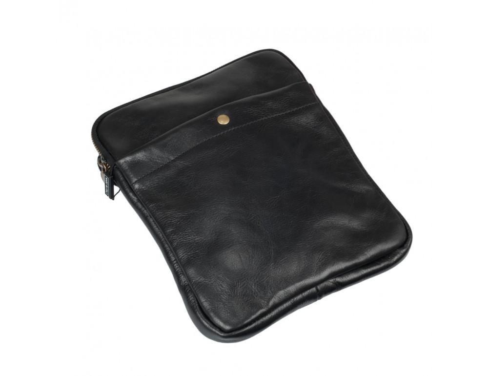 Мужская сумка через плечо VIRGINIA CONTI (ИТАЛИЯ) - VCM01349 Black - Фото № 4
