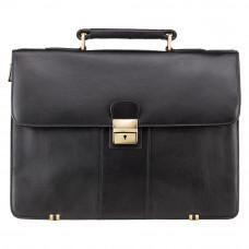 Шкіряний портфель Visconti 01775 - Warwick (black)