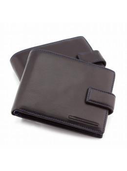 Чёрный кожаный портмоне под авто-документы Marco Coverna mc-1006A