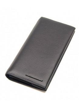 Чёрный кожаный портмоне Marco Coverna MC-1009A