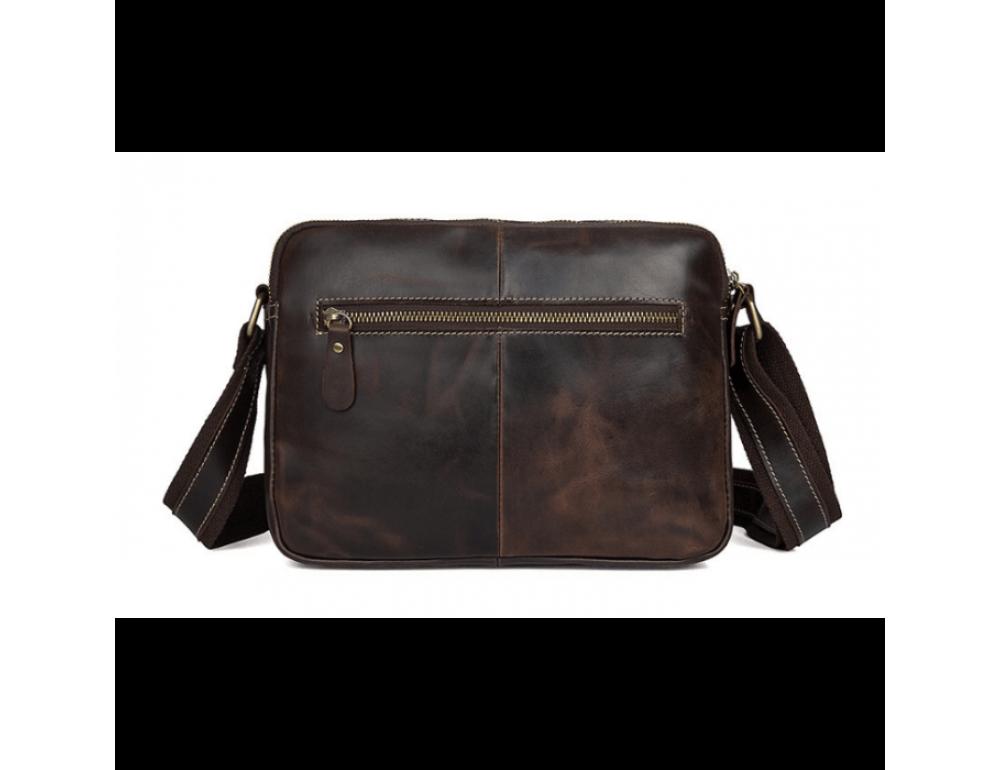Мужская кожаная почтальонка Tiding Bag 1039B - Фото № 3