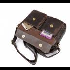 Мужская кожаная почтальонка Tiding Bag 1039B - Фото № 105