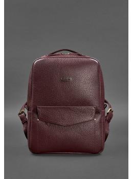 Жіночий шкіряний рюкзак Blancnote BN-BAG-19-marsala