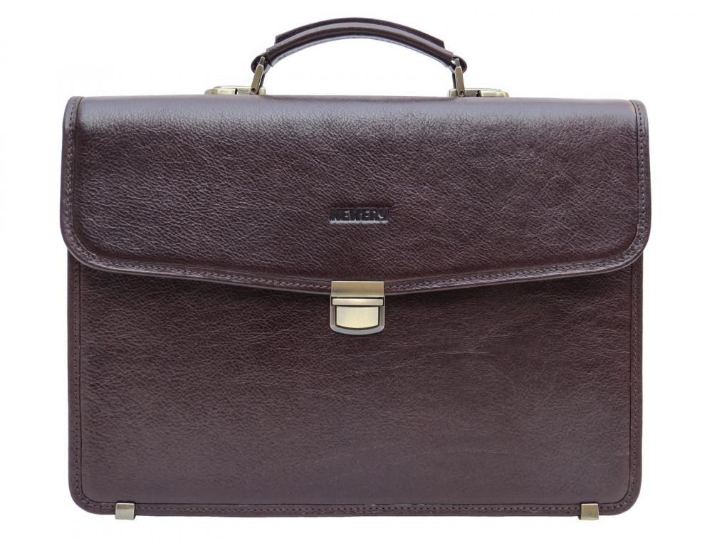 Мужской кожаный портфель Newery N1104GC - Фото № 1