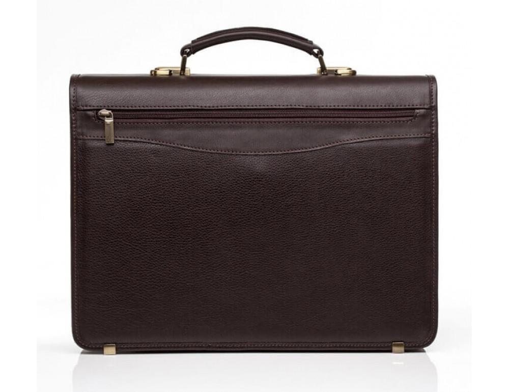 Мужской кожаный портфель Newery N1104GC - Фото № 3
