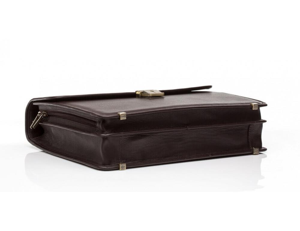 Мужской кожаный портфель Newery N1104GC - Фото № 4