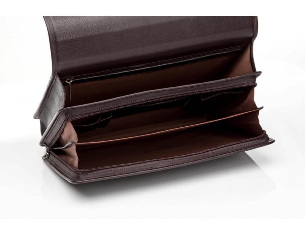 Мужской кожаный портфель Newery N1104GC - Фото № 6