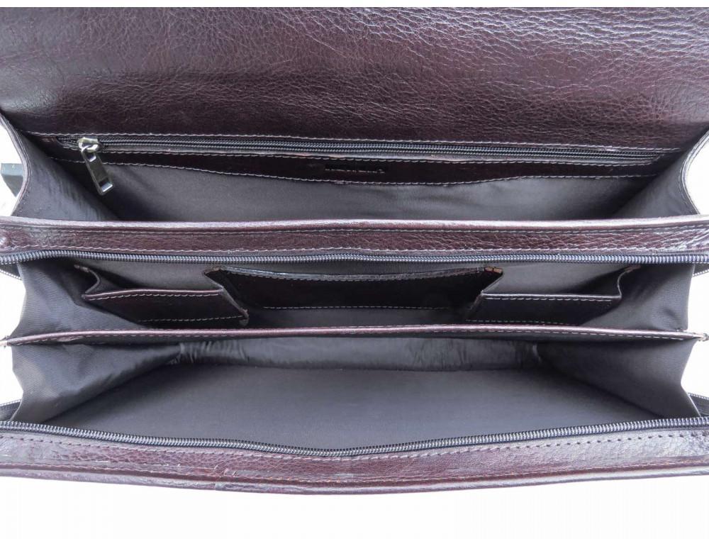 Мужской кожаный портфель Newery N1104GC - Фото № 7