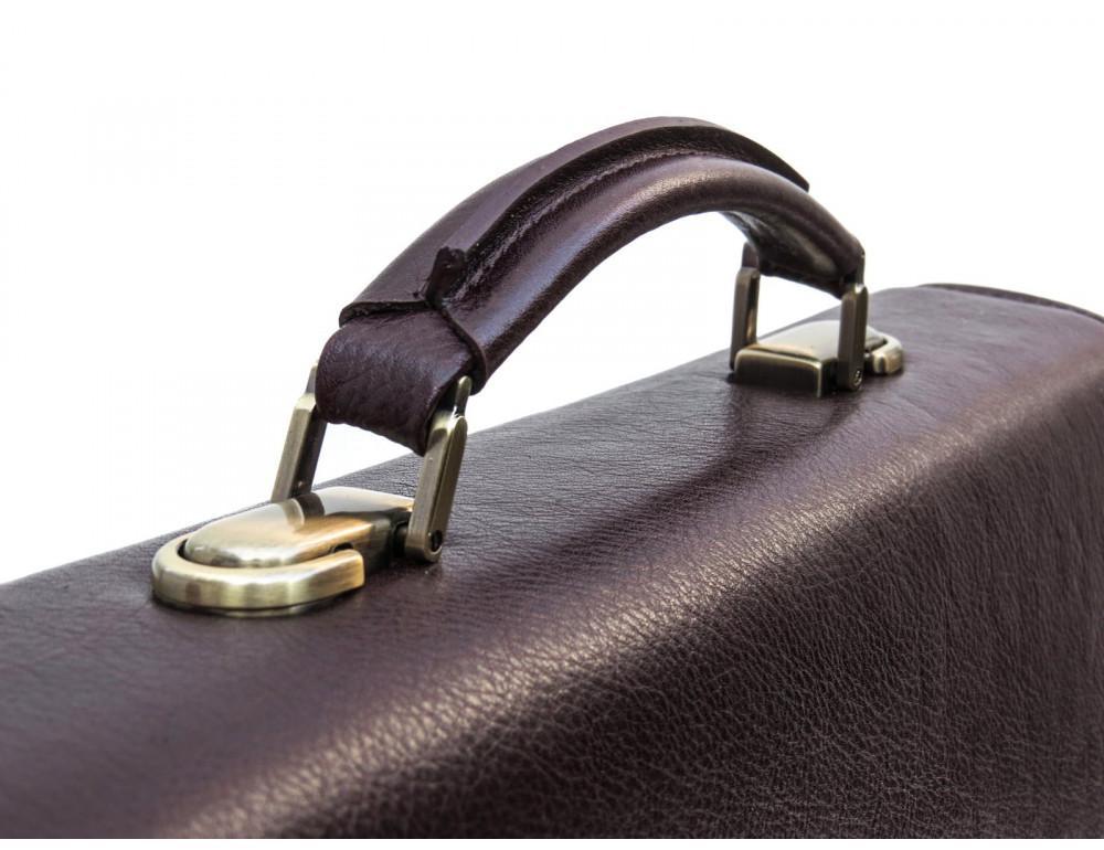 Мужской кожаный портфель Newery N1104GC - Фото № 8