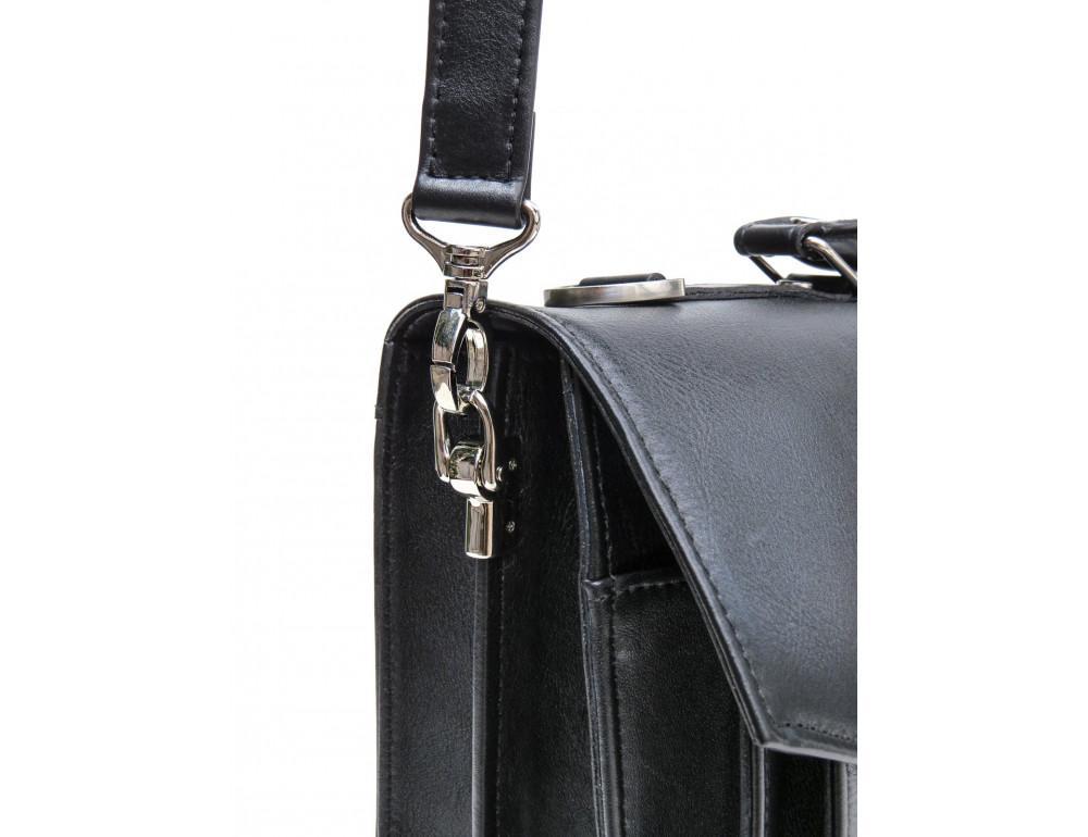 Мужской мягкий портфель из телячьей кожи Newery N4572GA - Фото № 7