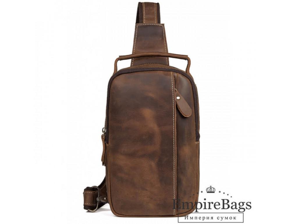 Мужская кожаная сумка на плечо Tiding Bag 4009B