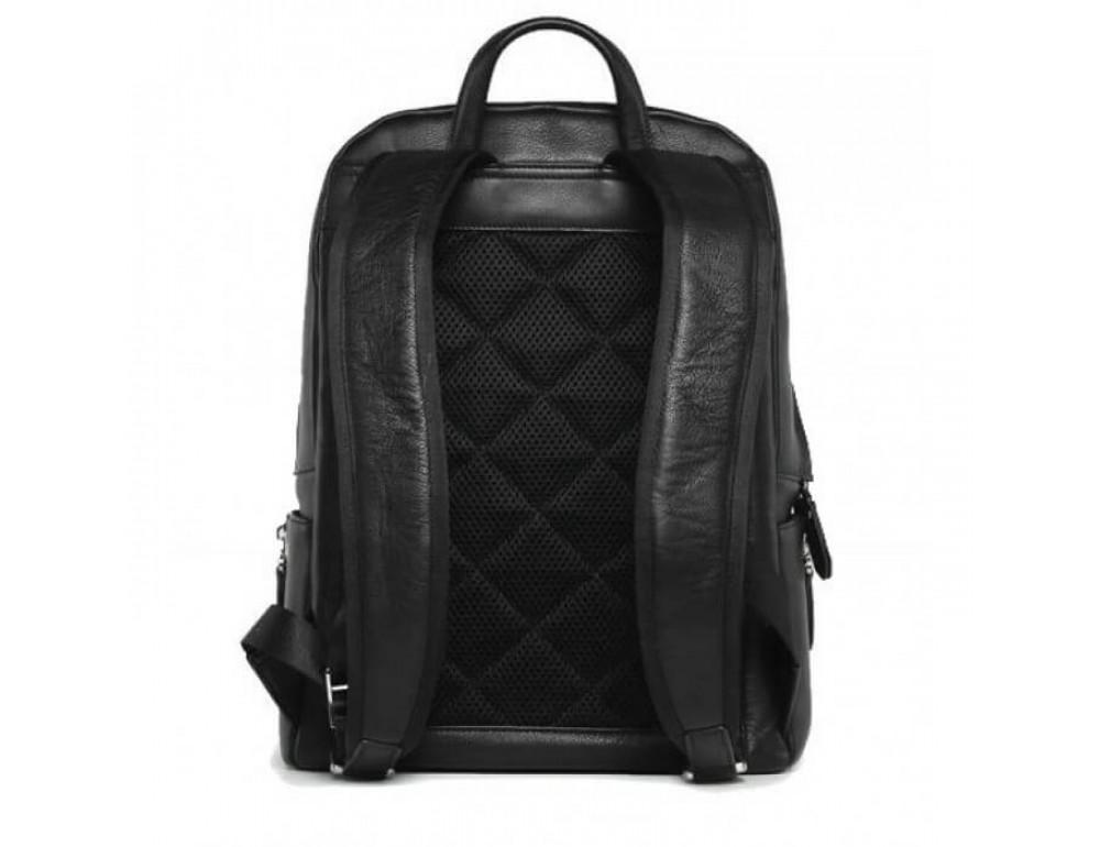Городской кожаный рюкзак Tiding Bag B3-122A чёрный - Фото № 10