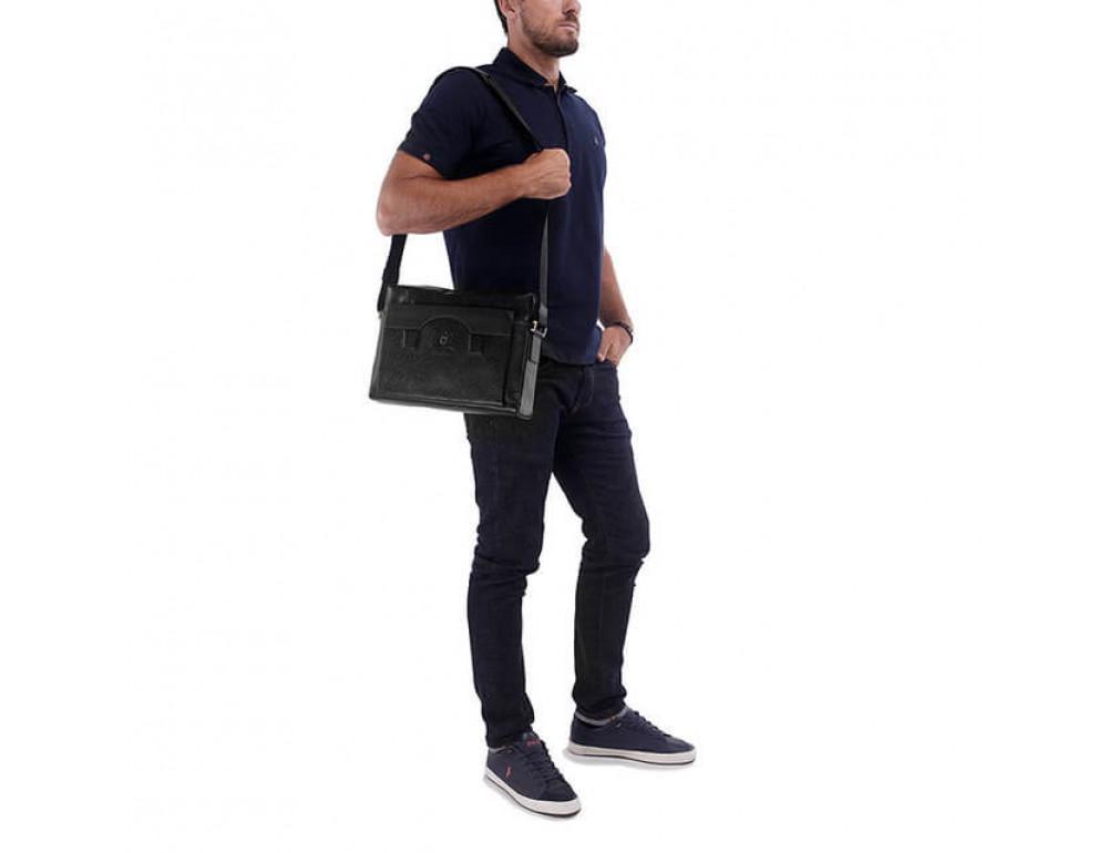 Мужская кожаная сумка Tifenis TF69876-6A - Фотографія № 2