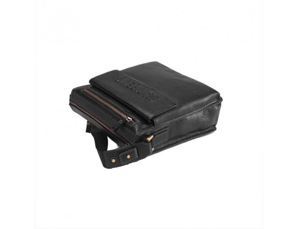 Чоловіча сумка-месенджер Tifenis Tf69978-2A чорна - Фотографія № 4