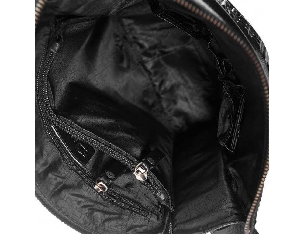 Чоловіча сумка-месенджер Tifenis Tf69978-2A чорна - Фотографія № 5