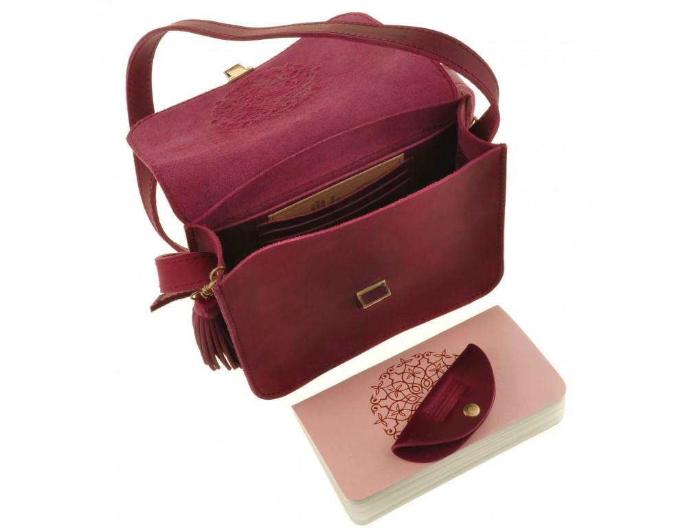 Женская сумка через плечо Blanknote BN-BAG-3-vin-man - Фото № 3