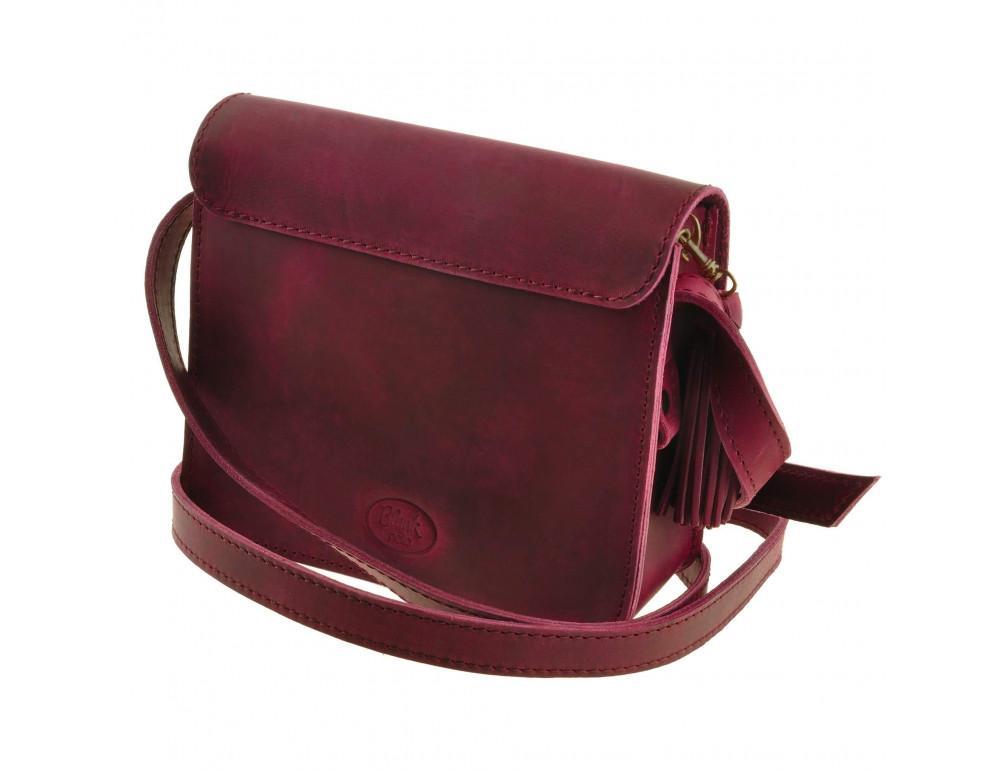 Женская сумка через плечо Blanknote BN-BAG-3-vin-man - Фото № 4