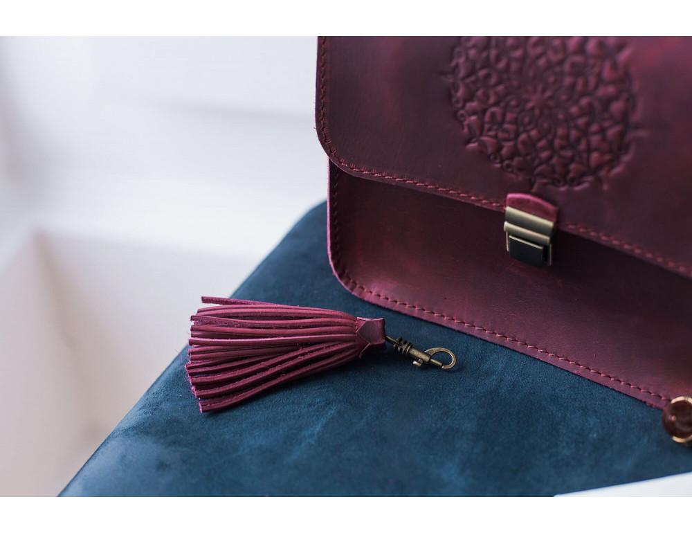 Женская сумка через плечо Blanknote BN-BAG-3-vin-man - Фото № 7