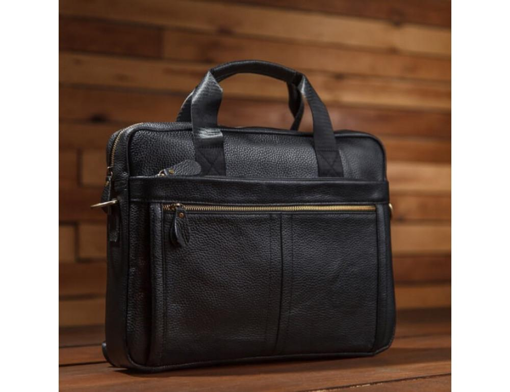 Мужская кожаная сумка под MacBook Bexhill BX1279A - Фото № 6