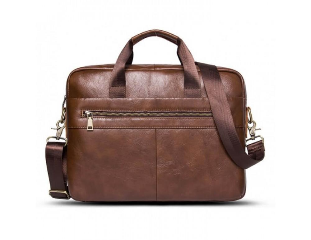 Мужская кожаная сумка под MacBook Bexhill BX1279C - Фото № 2