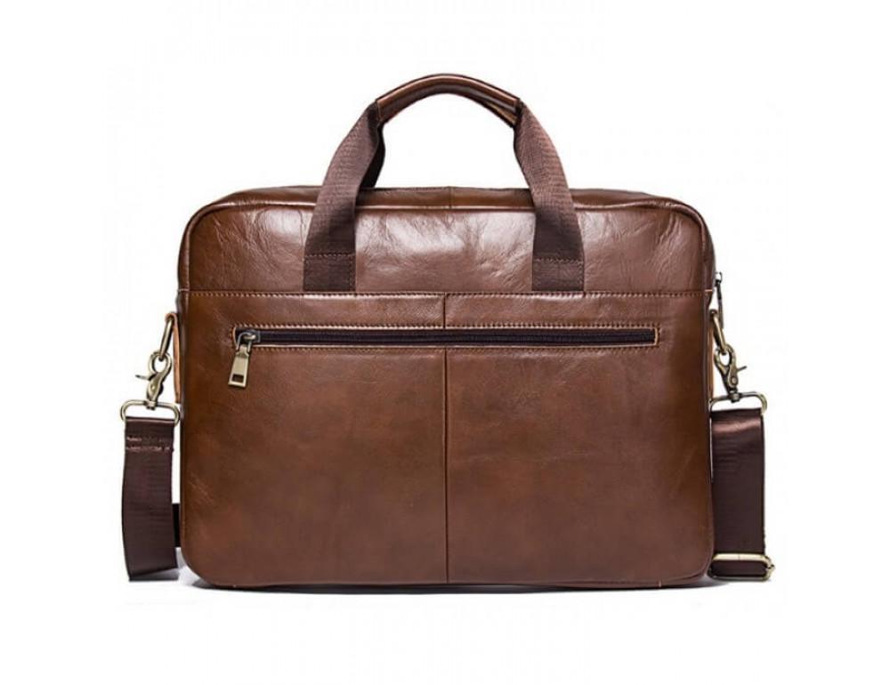 Мужская кожаная сумка под MacBook Bexhill BX1279C - Фото № 3