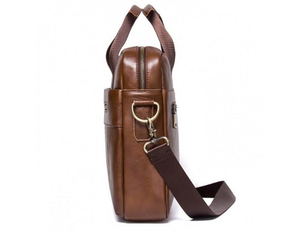 Мужская кожаная сумка под MacBook Bexhill BX1279C - Фото № 4