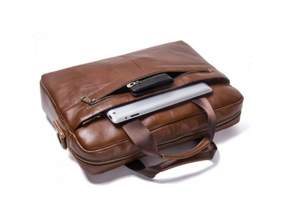 Мужская кожаная сумка под MacBook Bexhill BX1279C - Фото № 5