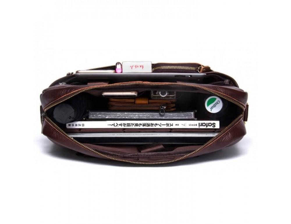Мужская кожаная сумка под MacBook Bexhill BX1279C - Фото № 7