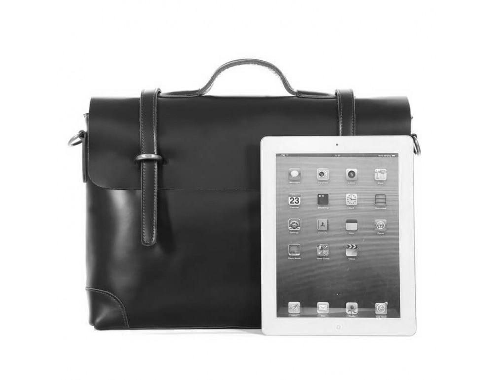 Мужской кожаный портфель TIDING BAG 7082A - Фото № 7