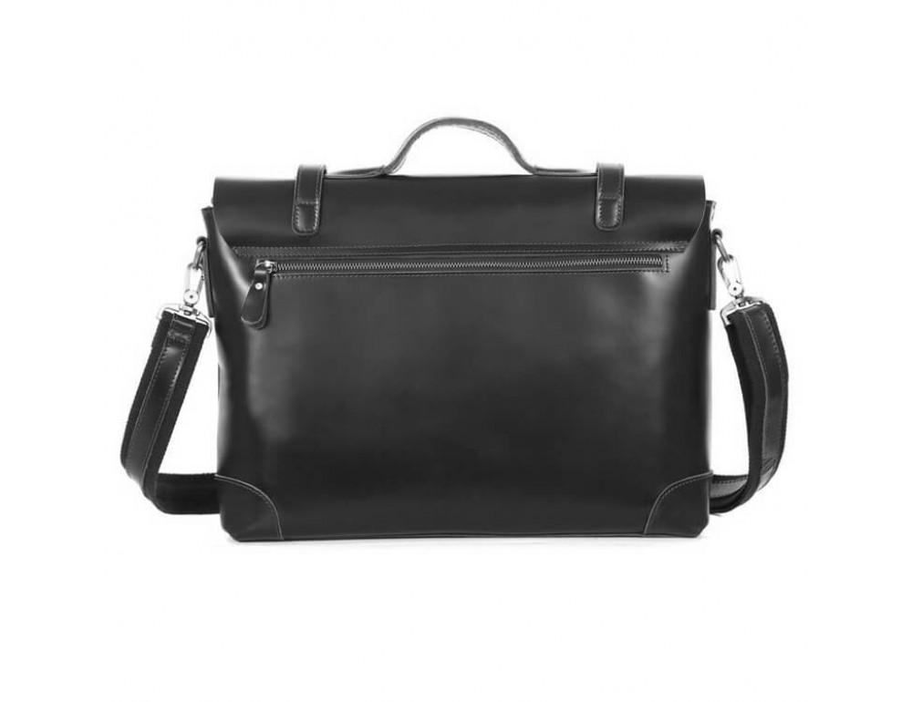 Мужской кожаный портфель TIDING BAG 7082A - Фото № 5