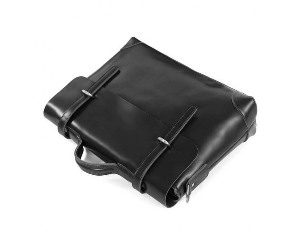 Мужской кожаный портфель TIDING BAG 7082A - Фото № 4