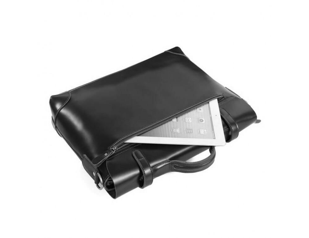 Мужской кожаный портфель TIDING BAG 7082A - Фото № 6