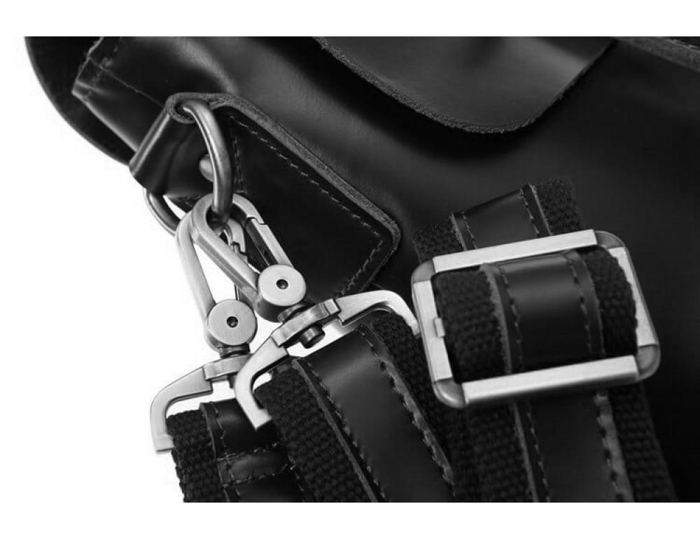 Мужской кожаный портфель TIDING BAG 7082A - Фото № 3