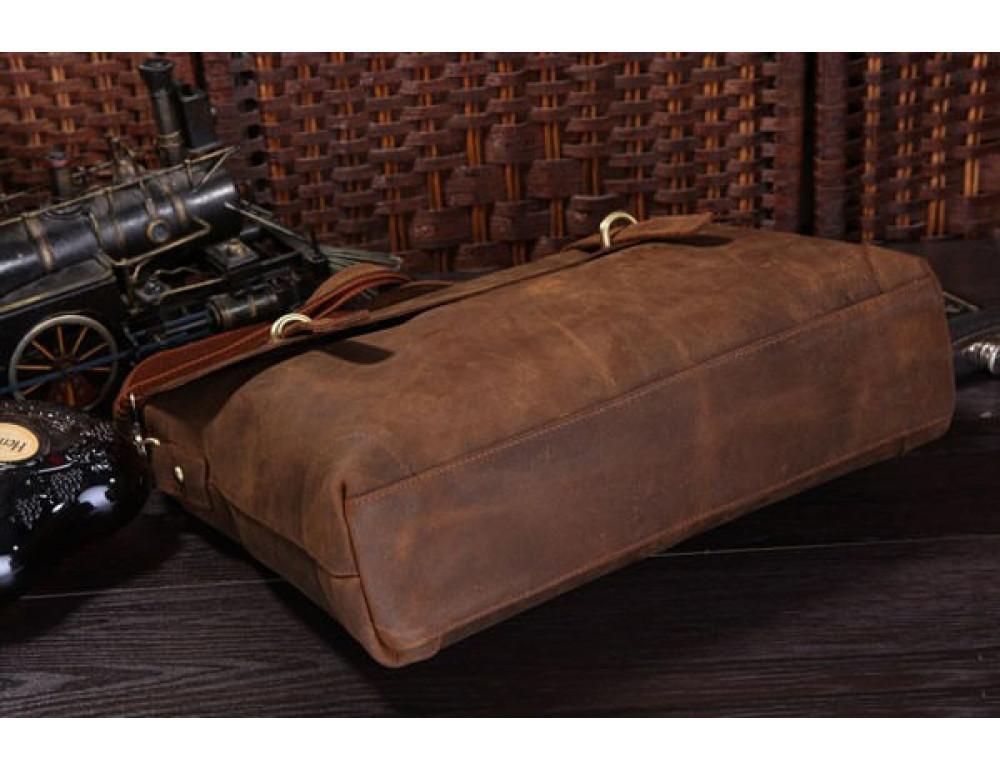 Мужской кожаный портфель TIDING BAG 7082R - Фото № 3