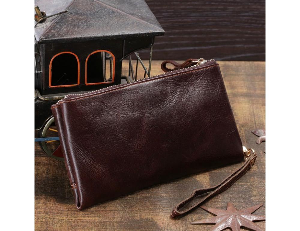 Мужской кожаный клатч TIDING BAG 8027C - Фото № 6