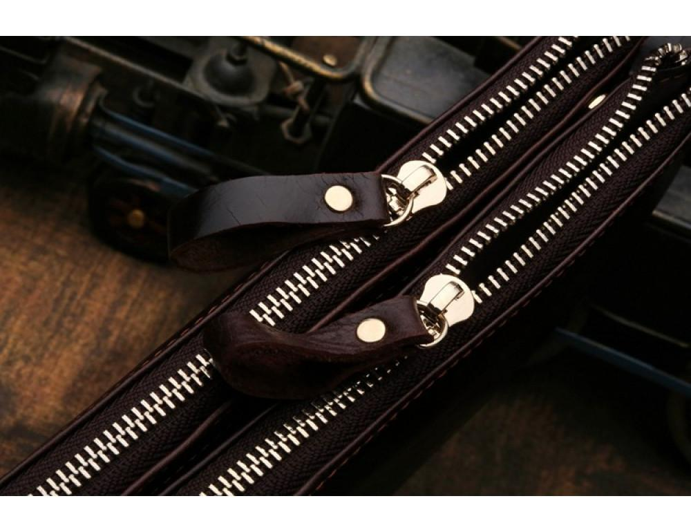 Мужской кожаный клатч TIDING BAG 8027C - Фото № 5