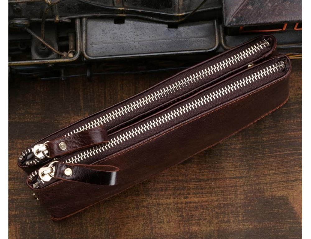 Мужской кожаный клатч TIDING BAG 8027C - Фото № 4