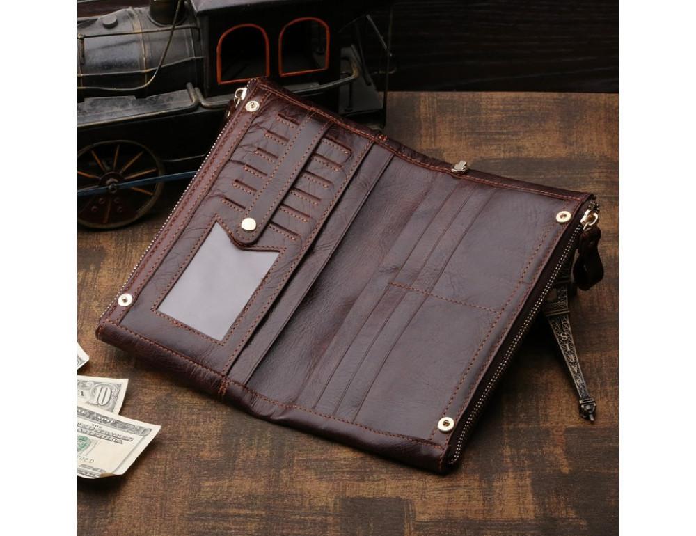 Мужской кожаный клатч TIDING BAG 8027C - Фото № 3
