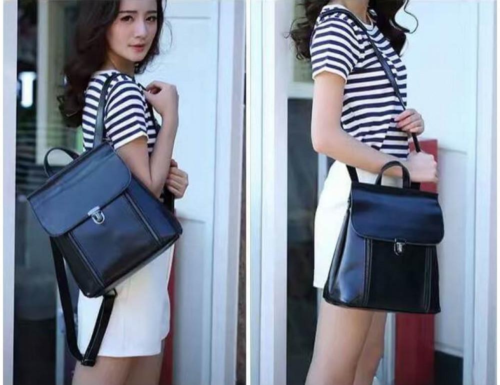 Жіночий шкіряний рюкзак Grays GR-8326A