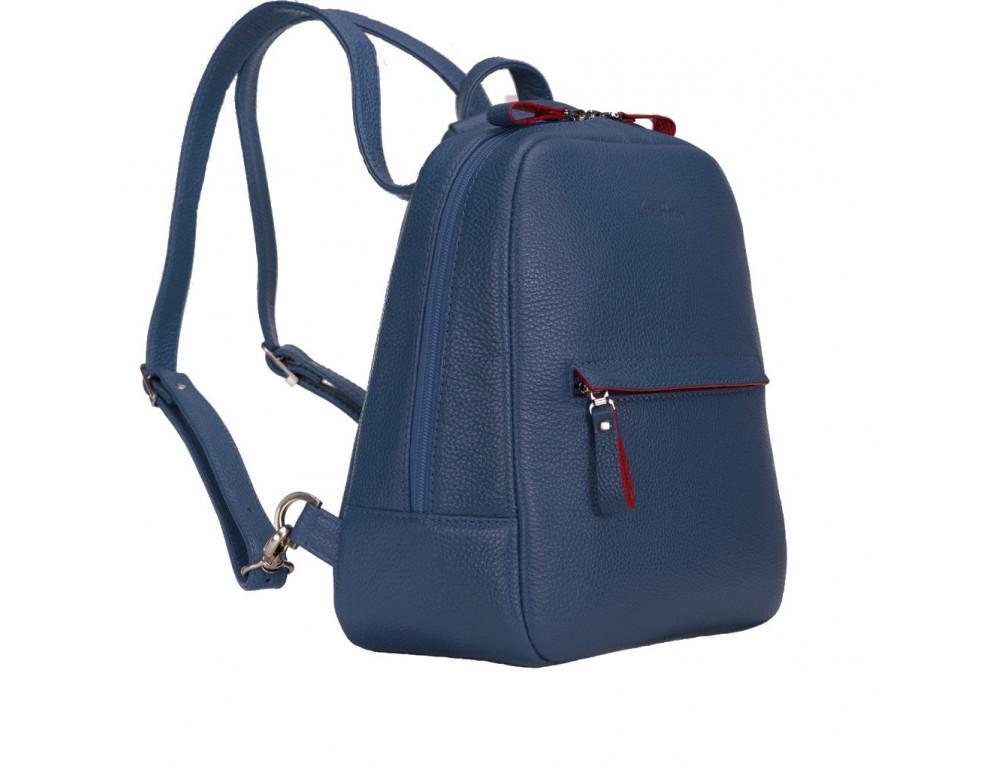 Женский темно-синий рюкзак из кожи Issa Hara BP3-13-15 - Фото № 4