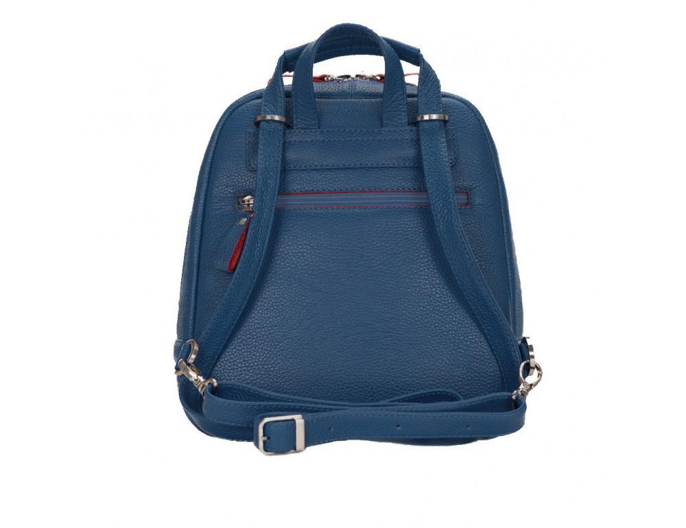 Женский темно-синий рюкзак из кожи Issa Hara BP3-13-15 - Фото № 3