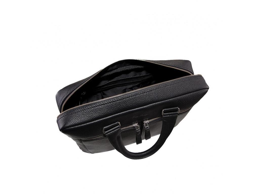 Чоловічий шкіряний портфель Issa Hara B23-11-00 - Фотографія № 2