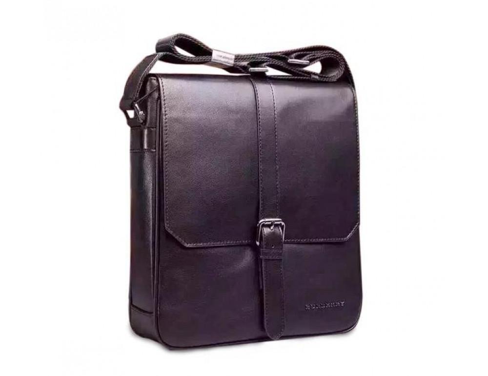 Чоловіча шкіряна сумка-месенджер Burberry Br3-404-2A