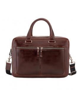 Вместительный кожаный портфель Issa Hara B23-92-00