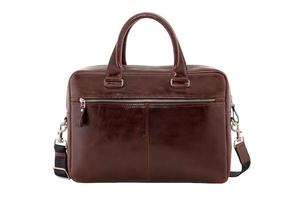 Вместительный кожаный портфель Issa Hara B23-92-00 - Фото № 2